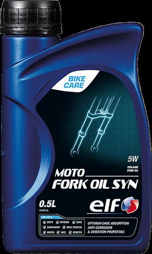 ELF MOTO FORK OIL SYN 5W