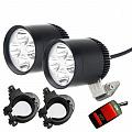 Светодиодные фары Huiermeimi 2 LED 60W